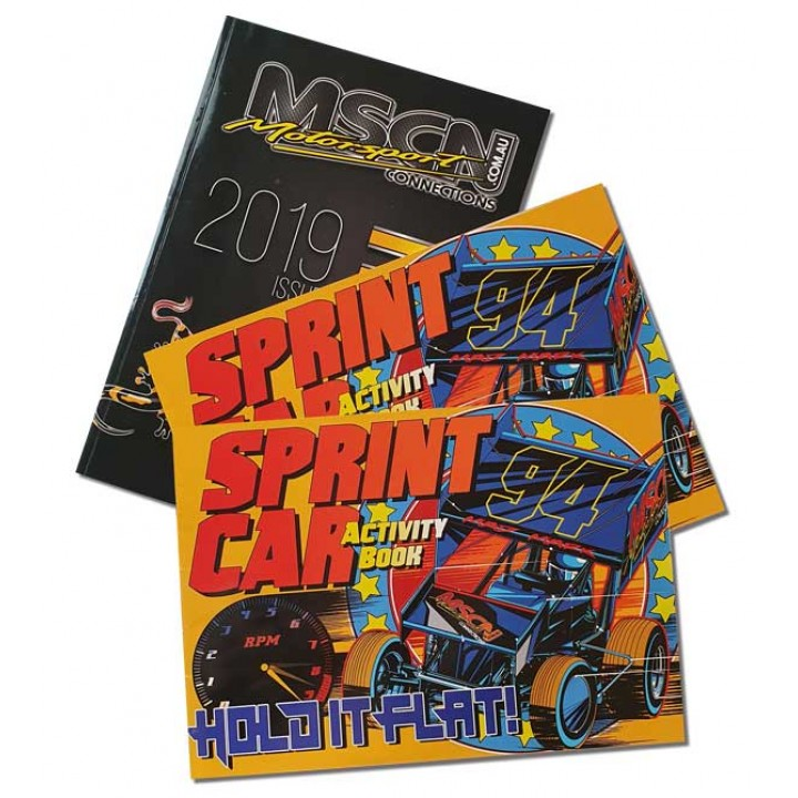 Sprint Car Books and Catalogue