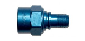 -6 Crimp Hose End Straight