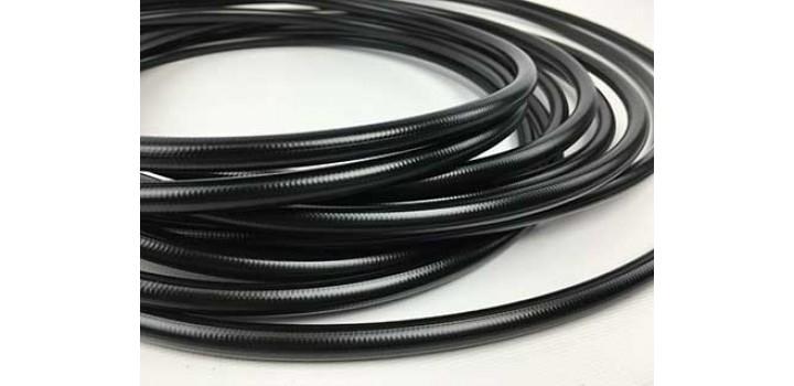 BMRS -3 Braided Black PVC Hose