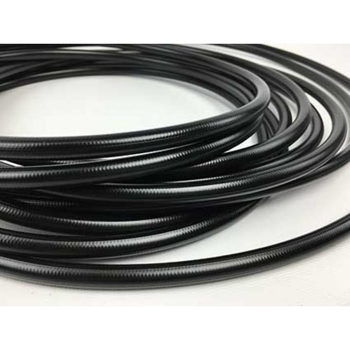 BMRS -03 Braided Black PVC Hose