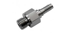 BMRS 3/8x24 Male -3 Hose End Stainless