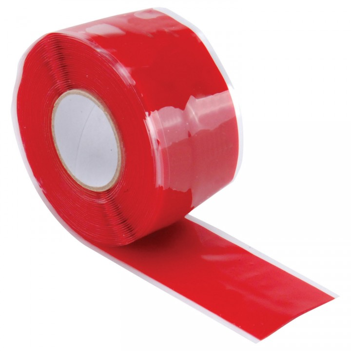 """Quick Fix Silicone Tape - 1"""" x 12ft Red"""