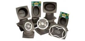 """Boom Mat Speaker Baffle 6"""" x 6"""" x 3-1/2"""""""