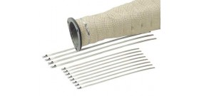 Exhaust Wrap - Stainless Ties