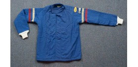 Fire Suit - Jacket Only - Small - Blue Denim
