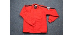 Fire Suit - Jacket Only - Small - Red