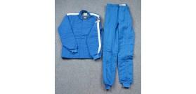 Fire Suit - Combo Jacket & Pants - Small - Blue