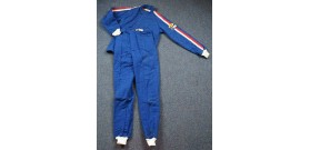 Fire Suit - Combo Jacket & Pants - Small - Denim Blue