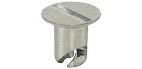 DZUS Steel Flush Head Button