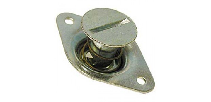 DZUS Steel Self Eject Button (Small - Extra Long)