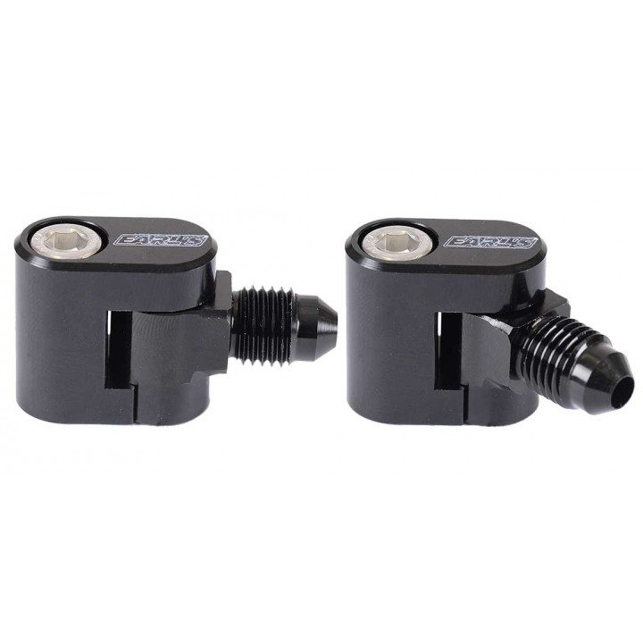 LS Steam Tube Adaptors Single Outlet -4AN