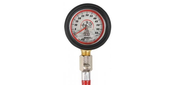 Lonacre 0-60 psi Tyre Pressure Gauge