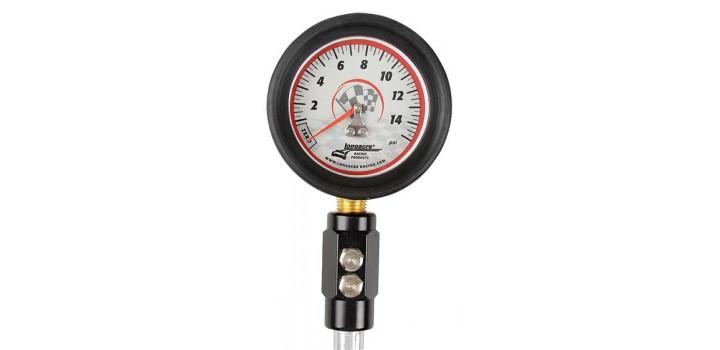Longacer 0-15 psi Tyre Pressure Gauge