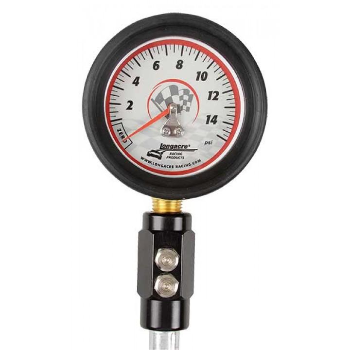 """Tyre Gauge - 0-15 psi - 2 & 1/2"""""""