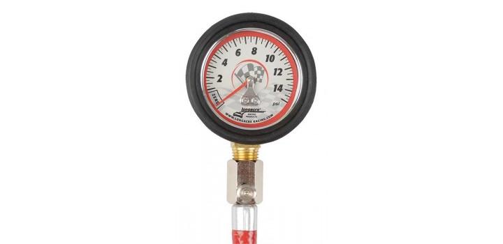 Longacre 0-15 psi Tyre Pressure Gauge