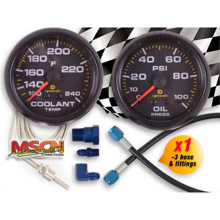 Sprint Car Gauge Kit