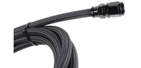 200 Series - Teflon Braided - Black Hose