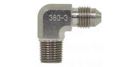 90° Male NPT Adaptor - 383 Series
