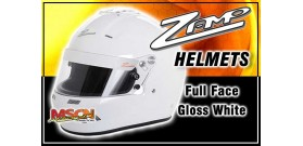 Full Face Zamp Helmet - White - SA2015