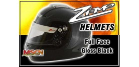Full Face Zamp Helmet - Black - SA2015