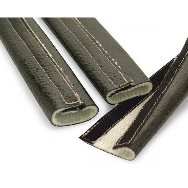 Fire Sleeve - DEI - Hook & Loop Fire Wrap - Silicone Jacket