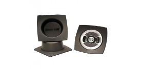 "DEI050330 Speaker Baffles - 6.5"" round (7""wx7""hx3.5""d) Pair"