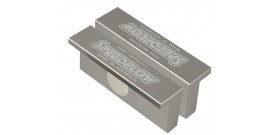 Aluminium Vice Jaws - Flat Face