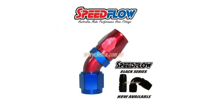 Speedflow 102 Series - 45° Hose Ends