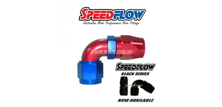 Speedflow 103 Series - 90° Hose Ends