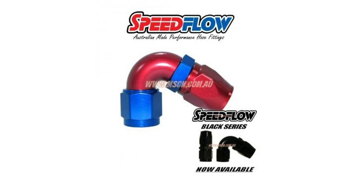 Speedflow 104 Series - 120° Hose Ends
