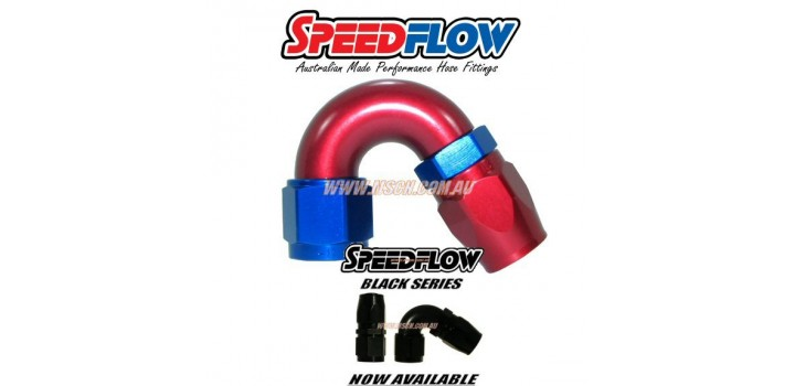 Speedflow 105 Series - 150° Hose Ends
