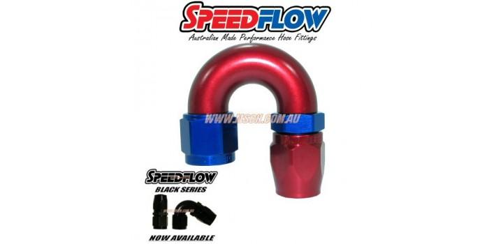 Speedflow 106 Series - 180° Hose Ends