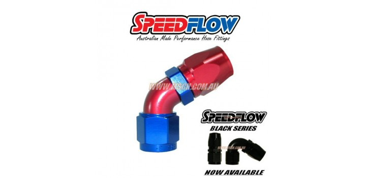 Speedflow 102-108 Series - 60° Hose Ends