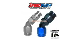 Speedflow 202 Series - Hose End 45 Degree