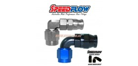 Speedflow 203 Series - Hose End 90 Degree