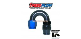 Speedflow 206 Series - Hose End 180 Degree