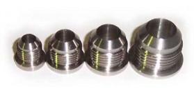 Speedflow 999 Series - Stainless Steel Male AN Flare Weld On