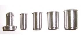 989 Series Aluminium Weld On's (Push on Barb)
