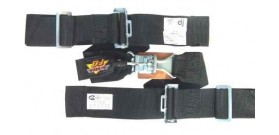 Lever Latch Lap Belt, Wrap Around, Pull Up - 3""