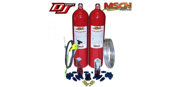 DJ Safety Coldfire Funnycar Kit