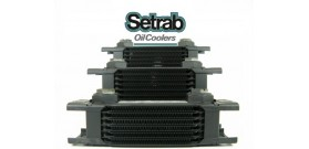 "Setrab Oil  Coolers - ""Narrow"" - 210mm Across"
