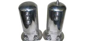 Fuel EFI Alloy Surge Tanks - Dual AN Outlets (Large)